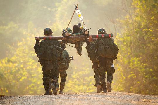soldier injury