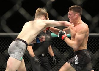 MMA: UFC 234-Young vs Arnett