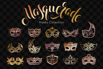 Mardi Gras Carnival background with mask. Shrove Tuesday Wall mural