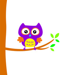 cute owl vector