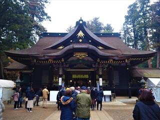 香取神宮 本堂 参拝