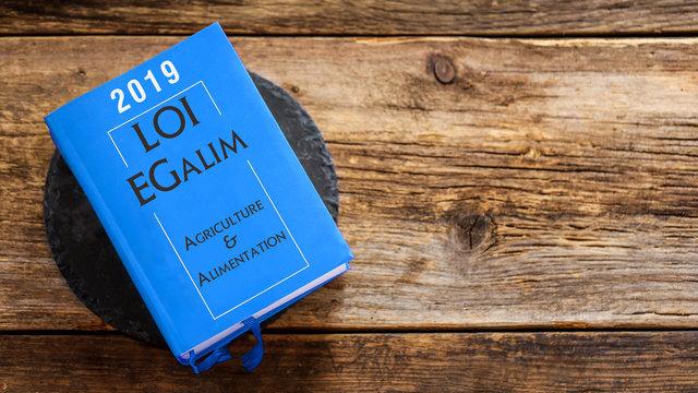 Livre : loi EGalim 2019