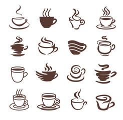 Coffee cup icon symbol vector illustration
