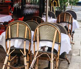 Street Cafe. Paris, France
