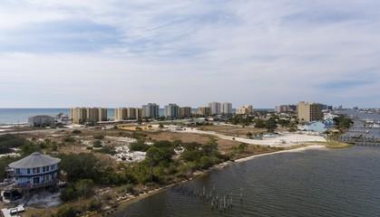 Aerial view of Perdido Key, Florida