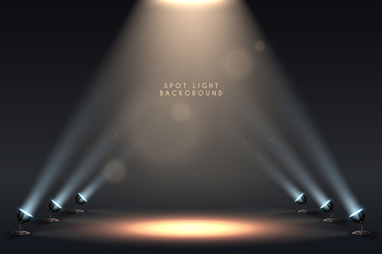 Spot light background