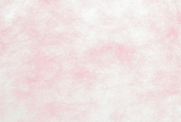 Transparent background of pink mulberry paper.