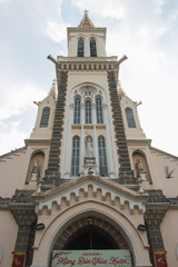 ベトナム ホーチミン 教会 Catholic Church Huyen Sy