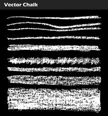 Vector Chalk Lines