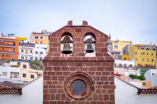 Kirchturm mCasa de Colón San Sebastián Gomera