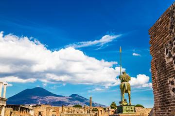 Statue Of Centaur-Pompeii, Naples, Campania, Italy