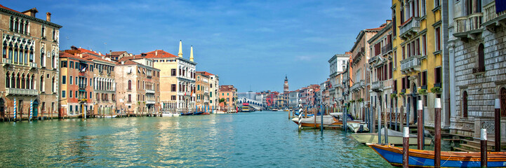 Wall Mural - Panorama of the Grand Canal in Venice, Italy