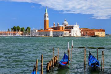 San Giorgio Maggiore island across from San Marco square in Venice, Italy