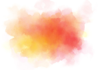 Abstract watercolor digital art painting for texture background
