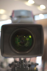 TV camera in recording