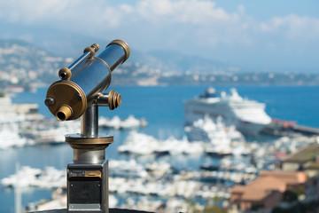 telescope for tourists in Monaco