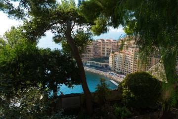 port de fontvieille in Monaco