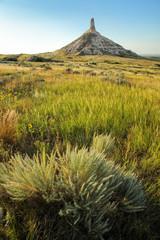 Chimney Rock National Historic Site, western Nebraska, USA