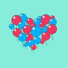Heart of balls