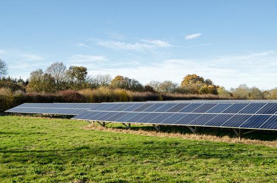 Solar Energy farm, Hampshire