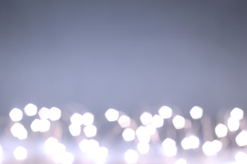 Night Abstract defocused lights bokeh background. High Resolution.