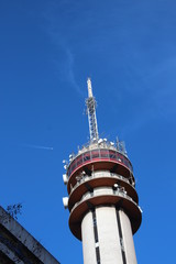 communications tower of KPN in the Beatrixkwartier in Den Haag in the Netherlands