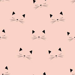 scandinavian cat pattern