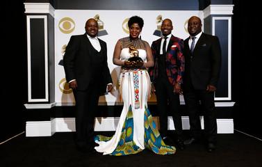 61st Grammy Awards - Photo Room - Los Angeles, California, U.S.