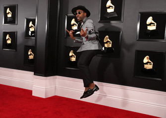 61st Grammy Awards - Arrivals - Los Angeles, California, U.S.