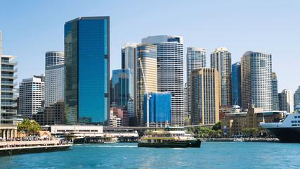 Sydney harbour city skyline