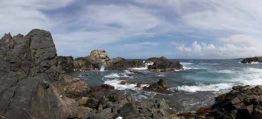 Views around the Natural Pool in Aruba