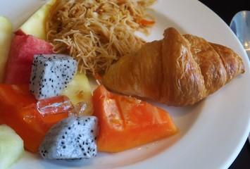 Petit déjeuner asie