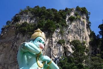Dieu hindou à tête de singe