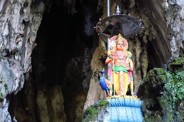 Divinité hindoue grottes de Batu