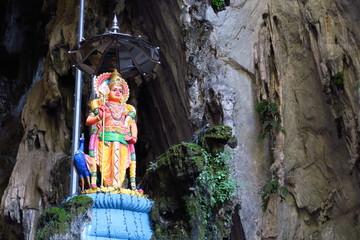 Divinité hindoue  caves de Batu kuala lampur