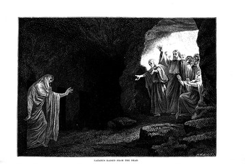 Illustration on religious subject.