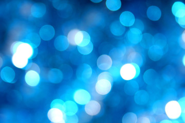 shades of blue blurred lights background