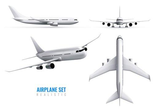 Airplane Realistic Set