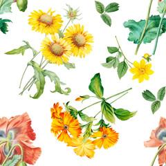 Floral patterned background
