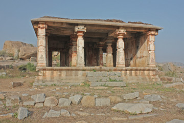 Ancient temples in Hampi, India