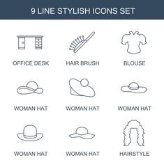 9 stylish icons