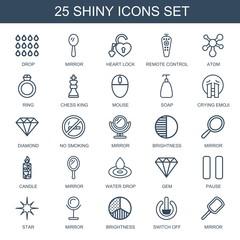 shiny icons