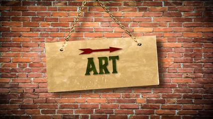 Sign 388 - Art