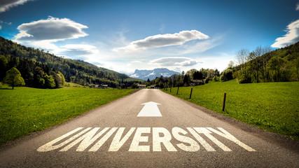 Sign 401 - University