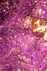 Amethyst, gemstone druse for stone healing