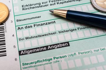 Steuern-Abgaben Finanzamt