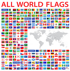 all country flags of the world.