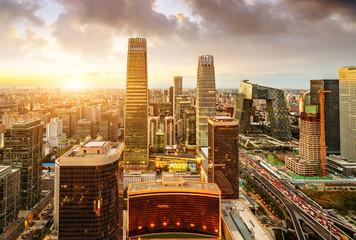 Aerial view of Beijing Fotomurales