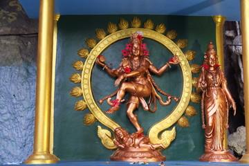 Statye de Shiva dorée