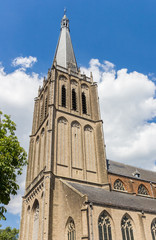 Fotomurales - Tower of the historic Martini church in Doesburg, Netherlands
